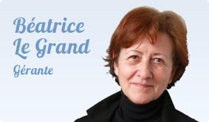 Béatrice Legrand, Gérante